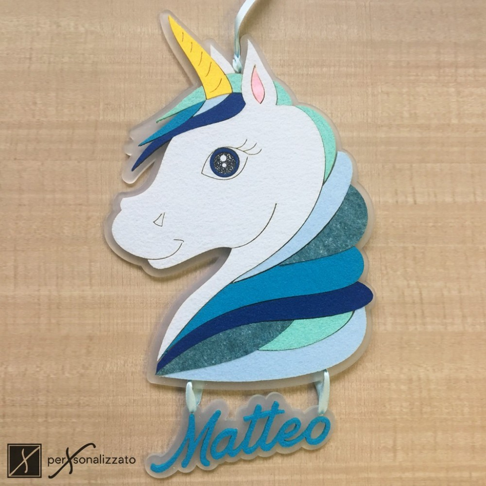 birth ribbon unicorn