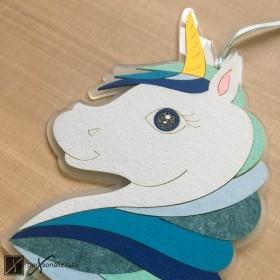 birth ribbon unicorn