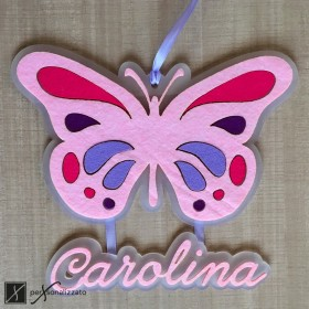 birth ribbon butterfly