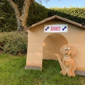 targa personalizzata cuccia cane