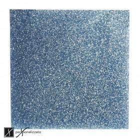 plexiglass glitter azzurro