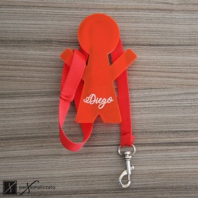 personalised coat hanger