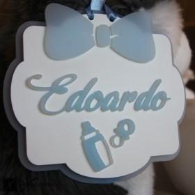 birth ribbon personalized