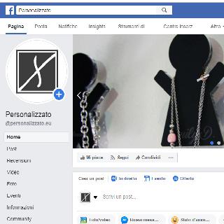 Pagina Facebook di Personalizzato.eu